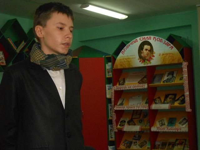 Шаповалов Олег  7 класс 1 место